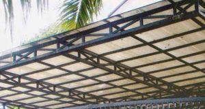 Model Kanopi Minimalis Baja Ringan